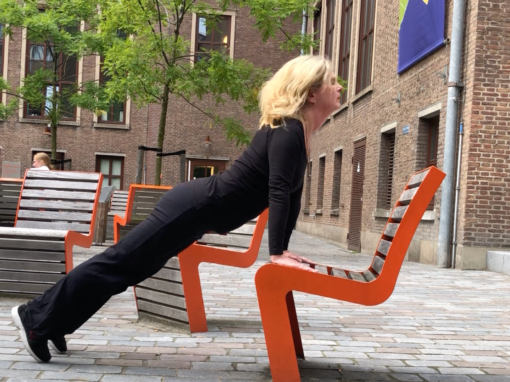 Plank Chair Yoga